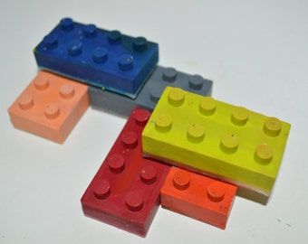 Lego Crayons Lego building blocks