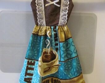 Oven door dress towel