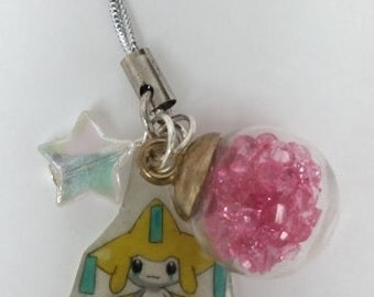 Jirachi Pokemon cell phone DS Charm GO