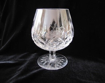 6 Vintage Waterford Irish Crystal Stem Brandy Glasses ON SALE
