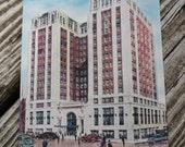 Vintage Hotel John Marshall, Richmond, Virginia Postcard