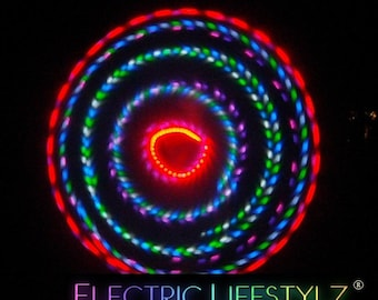 Sale Price - Strobing LED Hula Hoop -The SuperNova - PolyPro - free shipping