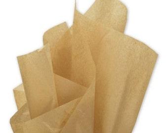 "Tissue Paper 24 sheets Kraft   Soild  DIY  Wedding Decor Craft Supplies  20"" X 30"" Gift Wrap, Favor Box Tissue, DIY Pom Pom Supplies"