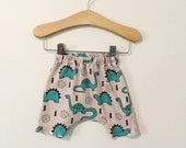Dinosaur Baby and Infant Harem Shorts