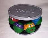 Fondant CakeTopper -  Sewer Turtles