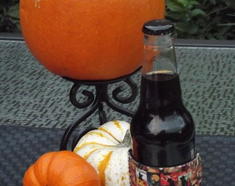 Personalized Beverage Insulator Vintage Halloween Poster