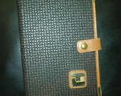 TED LAPIDUS NOTEBOOK Vintage, Leather Organizer, Paris France, Business Planner Agenda