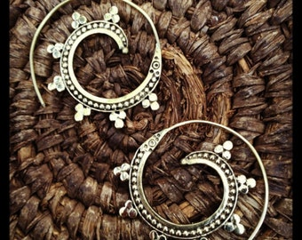 Silver Gypset Spirals