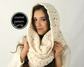 CROCHET PATTERN Chunky Cowl Scarf The Rochdale Scarf Pattern Instant Download Make Your Own Scarf