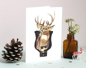 Deerest Greetings Card