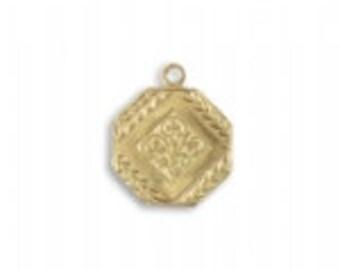 16.5x14mm Deco Medallion (28 pcs)