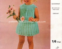 Unique Crochet Dress Pdf Related Items Etsy