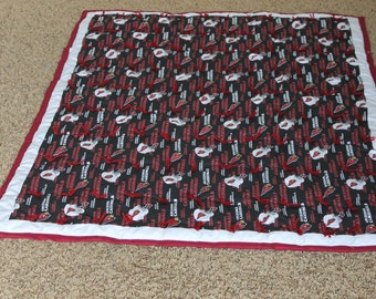 NFL Arizona  Cardinals, baby or crib quilt. Perfect for your little fan.