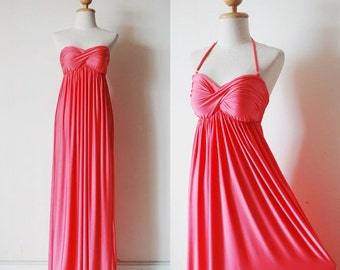Bridesmaid Pink Dress