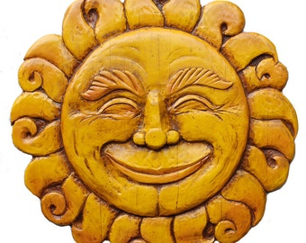 Sun Face Wall Art - Large Size