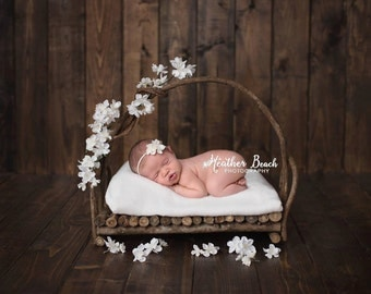 Branch Bed Prop, Twig Bed Prop, Bed Photo Prop, Newborn Bed Prop, Organic Prop, Photo Prop