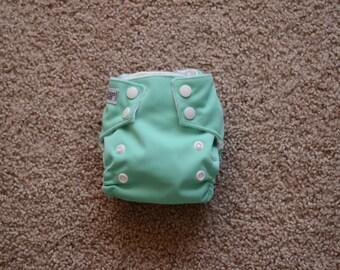 Newborn Aqua Cloth Diaper