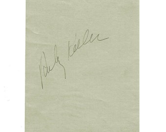 1930s RUBY KEELER Signed Autograph Album Page Busby Berkeley Actress Signature