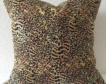 2 Pillow Covers 18x18 inch-Free US Shipping - Safari Cheetah Print