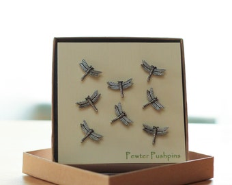 Dragonfly Pushpins For Your Corkboard
