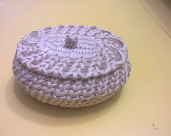 Small Papago Basket w Lid