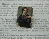 Charlotte Bronte lapel pin Literature gift Feminist brooch