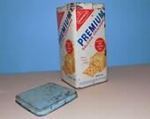 Premium Saltines Tin Canister