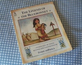"Vintage Children's Story Book, ""The Legend Of The Bluebonnet"" Written & Illustrated by Tomie DePaola 1983, Paperback Book, Sandcastle Book"