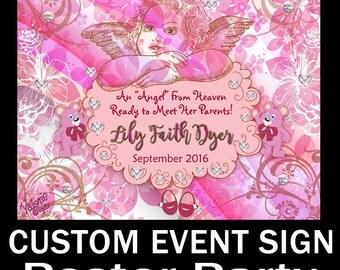 CUSTOM POSTER DESIGN 11X15 -Custom Birthday Poster- Restaurant Poster-Muscian Poster-Photo Collage-Bridal Shower-Custom Sign 24X36.Wedding,