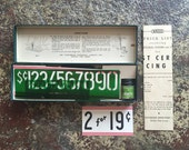 Vintage Post Cereal Pricing Stencil Set