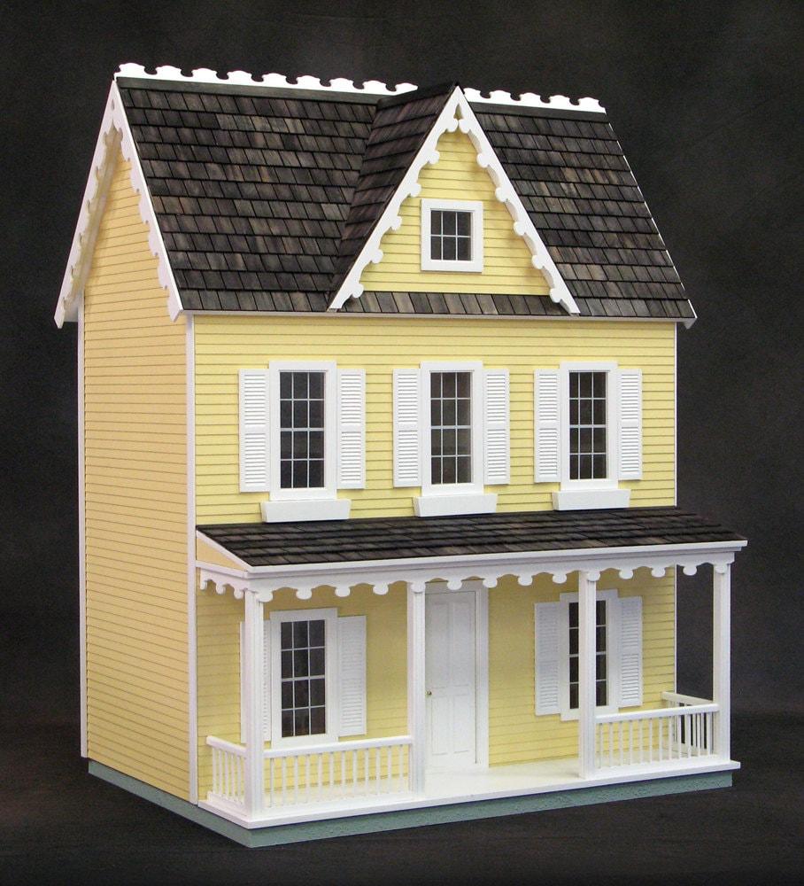 Built Amp Ready To Decorate Dollhouse Vermont Farmhouse