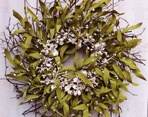 Beach Wreath-Summer Wreath-Beach Wreaths-Beach Home Decor-Summer Door Wreath-Seashell Wreath-Front Door Weath-SEA SHELL Twig Door Wreath
