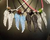 Inspired Guild Hunter Angel Pendant - Galen, Jason, Illium, Aodhan