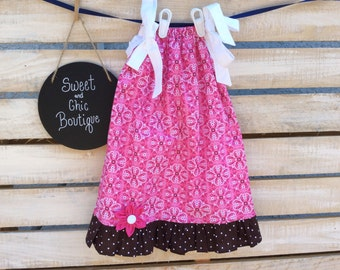 Pink Bandana Pillowcase Dress
