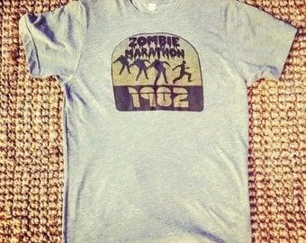 Zombie Marathon 1982 Men's Gray Small Shirt