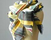 Blanket Scarf, Plaid Blanket Scarf, Tartan Scarf, Over Sized Blanket Scarves, winter accessories, women fashion