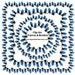 Clip Art Frames & Borders - Blue Christmas String Lights Collection (18 Digital Scrapbook Embellishments) Chanukah Holiday Decorations
