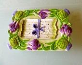Vintage Asparagus platter and drainer