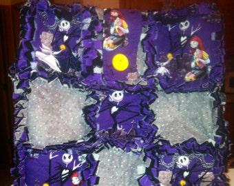 Nightmare Before Christmas Rag Bag Purse or Messenger Purse