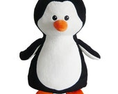 Personalised Embroidered Penguin