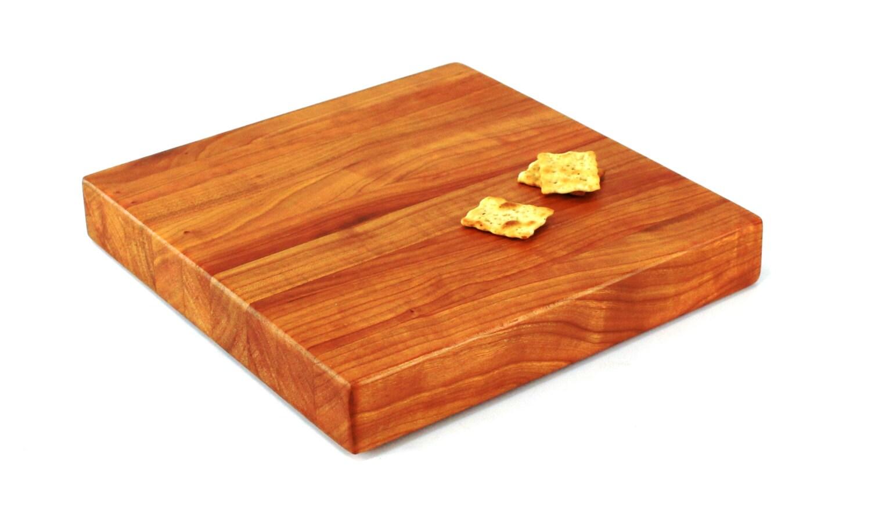 Butcher Block Cutting Boards ~ Butcher block cutting board edge grain cherry hardwood
