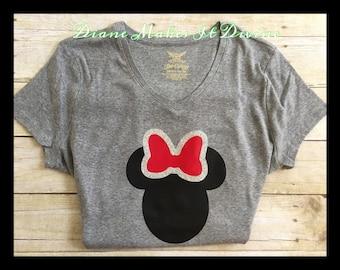 Minnie Mouse shirt, womens Minnie Mouse shirt