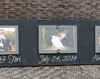 Always and Forever Picture Frame (3 horizontal 4x6 picture)