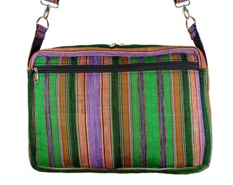 Kente Laptop Bag - African Computer Bag - Ghanaian Fashion - 15 inch - Laptop Sleeve