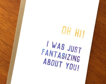 Newly dating birthday card