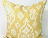 Gold Pillow, Pillow Cover, Decorative Pillow, Throw Pillow, Yellow Pillow, Accent Pillow, Pillow Cover, All Sizes, Pillow Sham, Gold Cushion