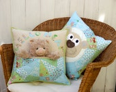 Bear Buddie pocket cushion pdf pattern