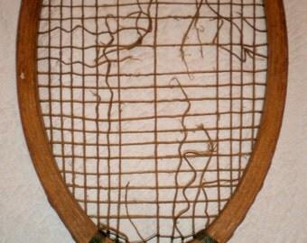 Wright Ditson Tennis Racket: The Park