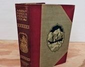 Antique Leather Bound Children's Book - A Book of Famous Explorers - Young Folks' Library - 1901 - Illustrated