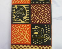 African wallet/Batik wallet with Elephant,zebra and turtle images/Gift for her/Gift for him/Festive season,Christmas and holiday season GIFT